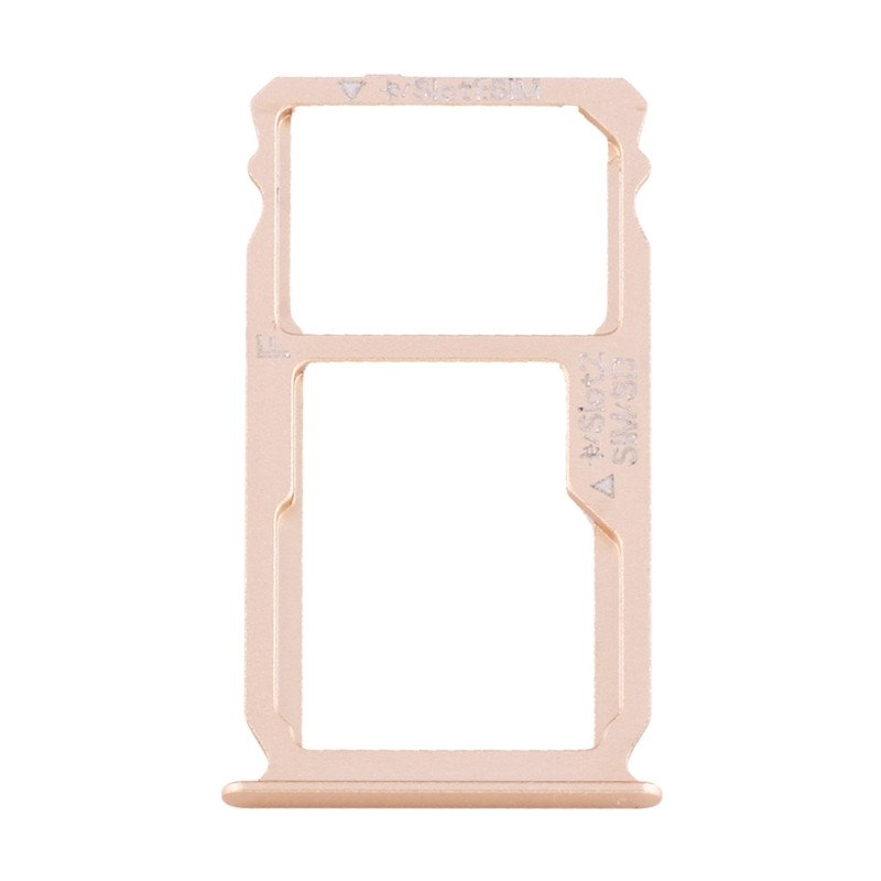 Nano SIM Card Tray + Nano SIM Micro SD Card Tray For HUAWEI Mate S
