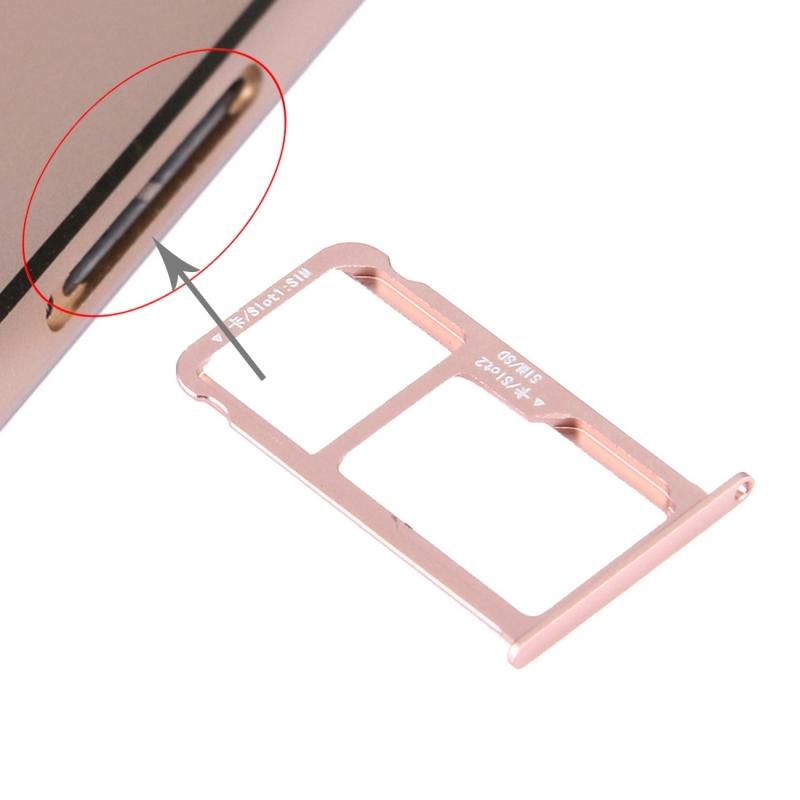 Nano SIM + Micro SD Nano SIM Card Tray For HUAWEI Honor V8
