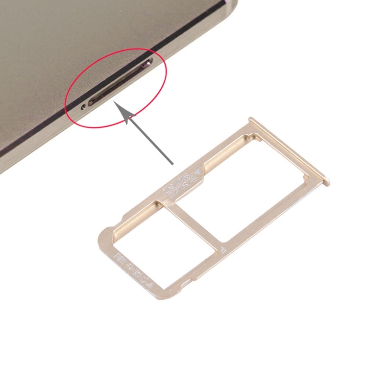 Nano SIM + Micro SD Nano SIM Card Tray For HUAWEI Mate 8